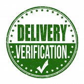 Delivery Verification Stamp