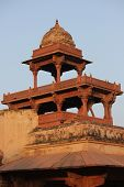 Fatehpur Sikri, tower detail