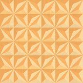 Wood carving. Geometric background.