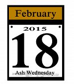 2015 ash wedneaday icon