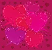 St. Valentine's Day background