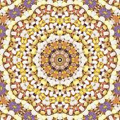 Pattern Of Bee Pollen Granules