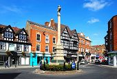 Tewkesbury war memorial.