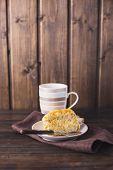 Sponge Cake And Cacao