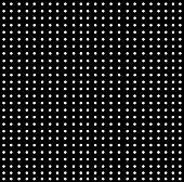 Background-White Dots On Black Pattern