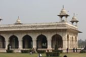 Inside The Red Fort Complex In Delhi