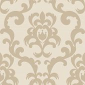 picture of french culture  - French beige royal wallpaper for your design - JPG