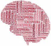 Schizophrenia Or Mental Disease Concept.