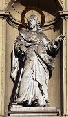 VIENNA, AUSTRIA - OCTOBER 10: St. Jude Thaddeus, Church of Saint Peter in Vienna, Austria on October 10, 2014.