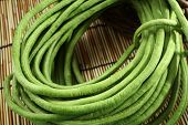 picture of raw materials  - green bean cook thailand food raw material asia close shot - JPG