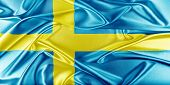 stock photo of sweden flag  - Sweden Flag - JPG