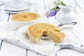 stock photo of tarts  - Tart au Citron - JPG