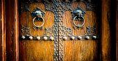 picture of door  - Chinese Old Door - JPG