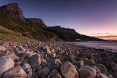 picture of fynbos  - Pebble beach at Camp - JPG