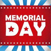 stock photo of memorial  - Memorial Day design - JPG