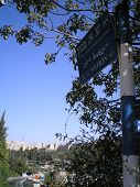 Bright Day In Jerusalem poster