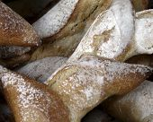 French Bread At Market