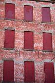 Foreclosed Apartment Building
