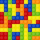 Lego Tetris poster