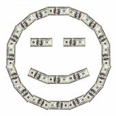 Dollar Smiley Happy