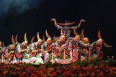 Chinesische ethnische Tanz