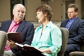 Mature Couple In Church