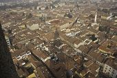 Panorama of Cremona, Italy