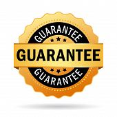 Guarantee business icon poster