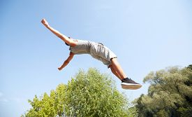 foto of parkour  - fitness - JPG