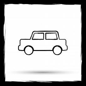 picture of designated driver  - Car icon - JPG