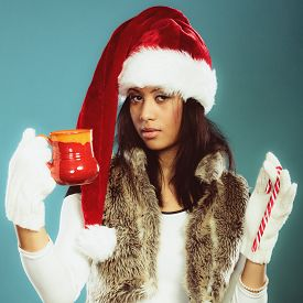 picture of mug shot  - Christmas time concept - JPG