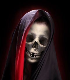 picture of burka  - Portrait of death - JPG