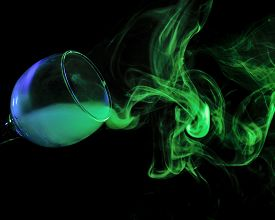 picture of hookah  - Abstract art - JPG