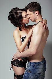 stock photo of lewd  - Sensuality - JPG
