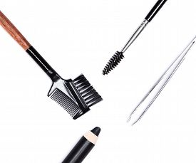 image of eyebrows  - Accessories for care of the brows - JPG