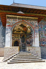pic of suceava  - The Sucevita Monastery is a Romanian Orthodox monastery situated in the commune of Sucevita Suceava County Moldavia Romania - JPG