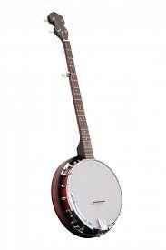 pic of banjo  - The image of a banjo - JPG