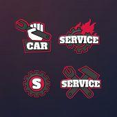Engineering Simple Icons. Machine Engineers. Engineering Equipme poster