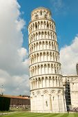 The leaning tower of Pisa, a symbol of Italy poster