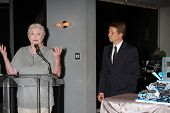 LOS ANGELES - MAY 17:  Susan Flannery, Brad Bell at the Bold & Beautiful Celebration of their Emmy N