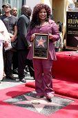 LOS ANGELES - MAY 19:  Chaka Kahn at the Chaka Kahn Hollywood Walk of Fame Star Ceremony at Hollywood Blvd on May 19, 2011 in Los Angeles, CA