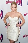 LOS ANGELES - APR 10: Ashley Benson arrives at the 22nd annual GLAAD Media Awards at Westin Bonavent
