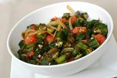 Indian Food Series - Okra Dish