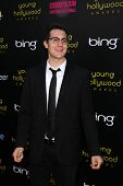 LOS ANGELES - MAY 20:  Dan Levy arriving at the 2011 Young Hollywood Awards at Club Nokia at LA Live