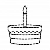 Bakery Birthday Cake poster