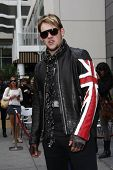 LOS ANGELES - MAY 23:  James Durbin at the Simon Fuller Hollywood Walk Of Fame Star Ceremony at W Ho