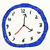Childs Clock Drawing