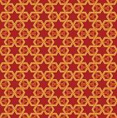 Постер, плакат: стильный геометрический орнамент бесшовные векторные иллюстрации
