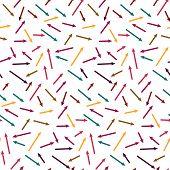 Patrones caóticos sin fisuras con flechas