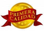 Premium Quality Seal - Spanish Version